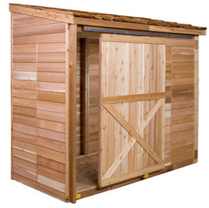 Sliding Door Option Cedarshed Usa