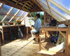 Inside the Cedarshed Sunhouse