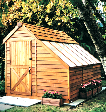 Sunhouses - Western Red Cedar Greenhouses for sale