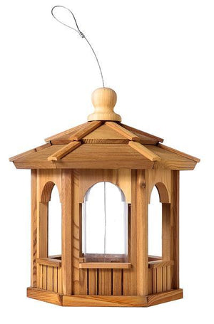 Cedar Wood Bird Feeders