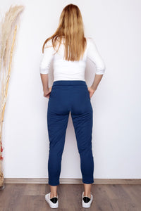 Women's Belted Saxe Pants