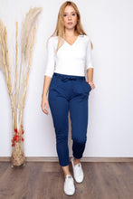 Load image into Gallery viewer, Women's Belted Saxe Pants
