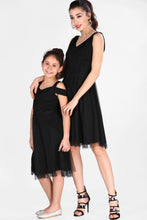 Load image into Gallery viewer, Mother Girl's Black Dress Combo