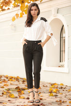 Load image into Gallery viewer, Women's Pocket Black Pants