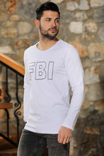 Load image into Gallery viewer, Men's Printed White Sweatshirt