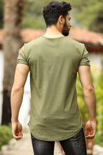 Load image into Gallery viewer, Men's Basic Khaki T-shirt