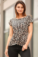 Load image into Gallery viewer, Women's Leopard Pattern Blouse