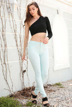 Load image into Gallery viewer, Women's High Waist Mint Green Pants