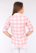 Load image into Gallery viewer, Women's Plaid Pattern Shirt