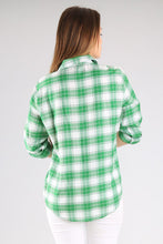 Load image into Gallery viewer, Women's Pocket Checkered Shirt