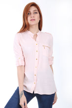 Load image into Gallery viewer, Women's Zipped One Pocket Shirt