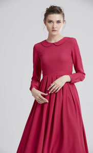 Women's Long Sleeves Dress