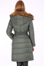 Load image into Gallery viewer, Women's Belted Blown Coat