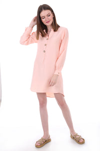 Women's Wooden Button Tunic