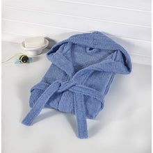 Load image into Gallery viewer, Baby's Basic Blue Bathrobe