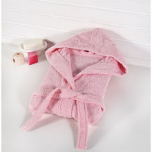 Load image into Gallery viewer, Baby's Basic Pink Bathrobe