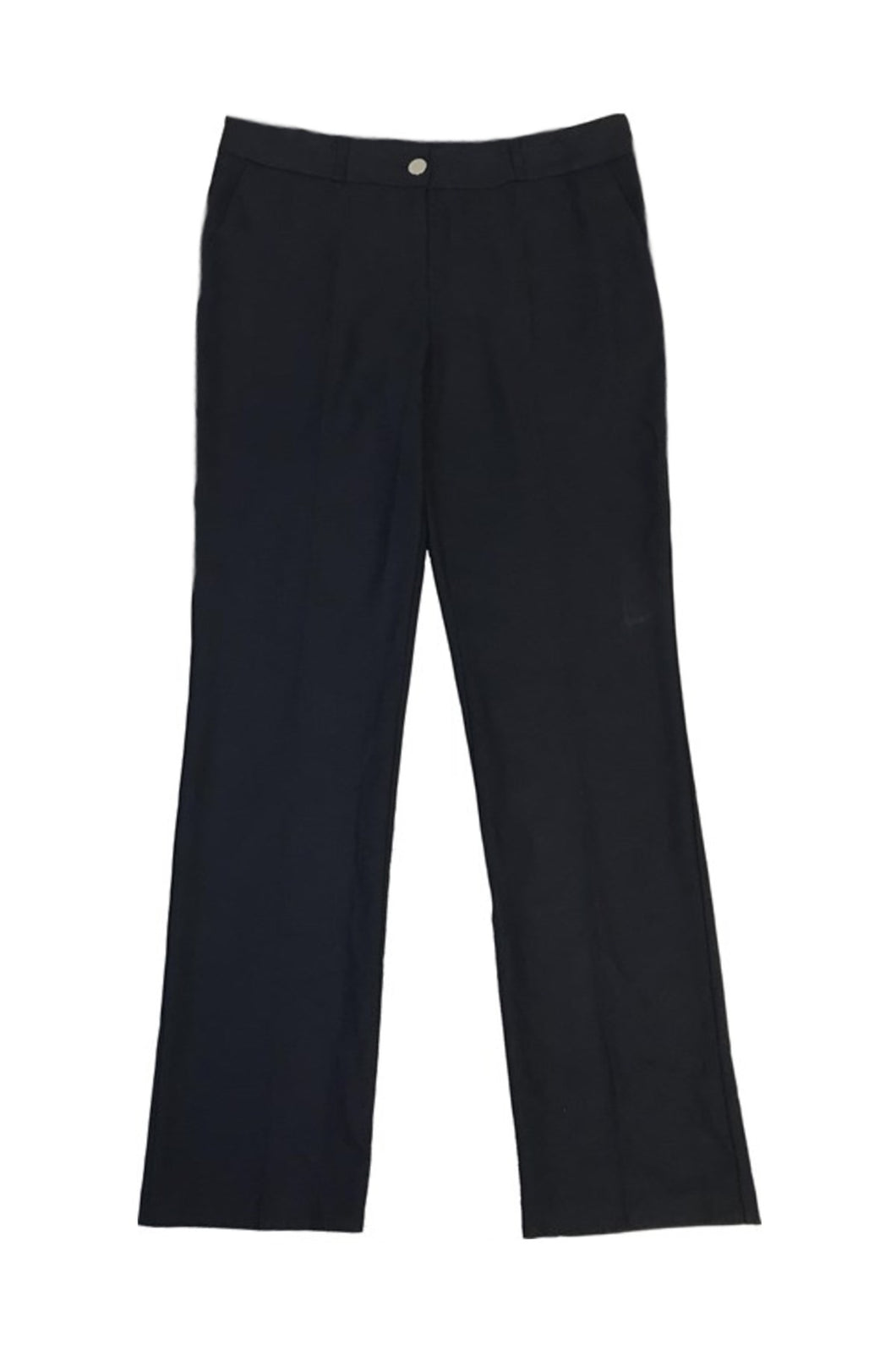 Women's Classic Cut Navy Blue Pants
