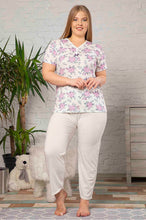 Load image into Gallery viewer, Women's Patterned Pajama Set