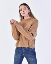 Load image into Gallery viewer, Women's Crew Neck Mink Sweater
