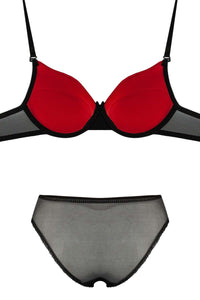 Women's Push Up Bra & Panty Set