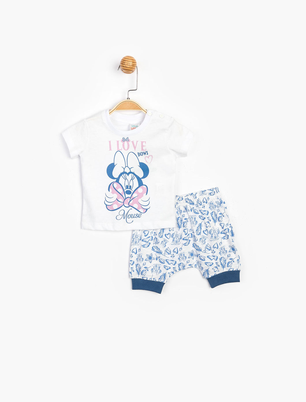 Baby Girl's Printed Outfit - 2 Pieces