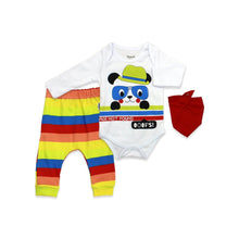 Load image into Gallery viewer, Baby's Printed 3 Pieces Outfit Set