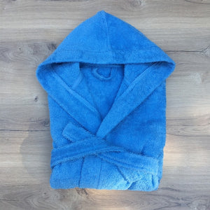 Baby's Basic Blue Bathrobe