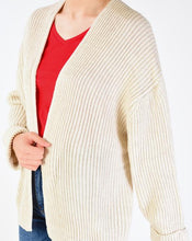 Load image into Gallery viewer, Women's Roll-up Sleeves Cardigan