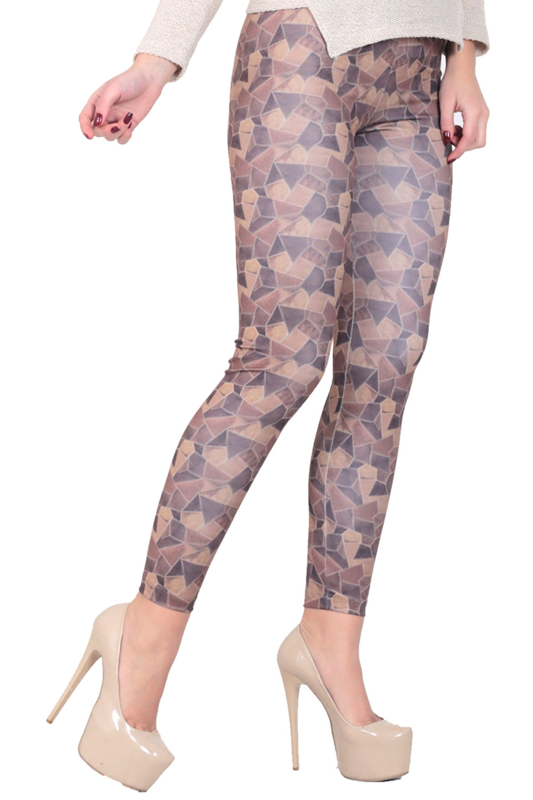 Women's Printed Mink Tights