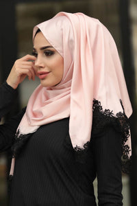 Women's Lace Silk-like Scarf