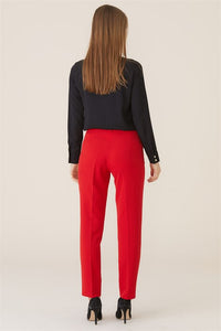Women's Basic Red Pants