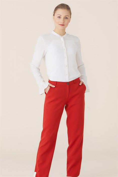 Women's Tile Red Pants