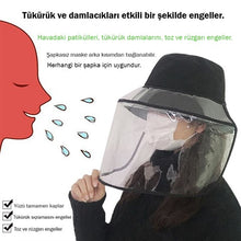 Load image into Gallery viewer, Protective Transparent Face Shield (That Can Be Worn On The Hat)