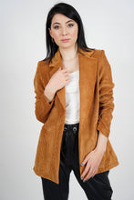 Load image into Gallery viewer, Women's Unlined Ginger Velvet Jacket