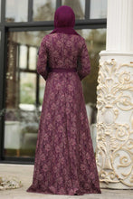 Load image into Gallery viewer, Women's Lace Damson Evening Dress