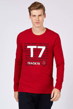Load image into Gallery viewer, Men's Printed Red Sweatshirt