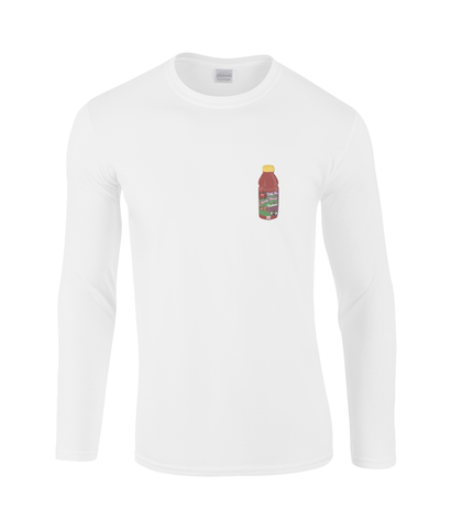 Filthy Flavor Long Sleeve (Black/White)