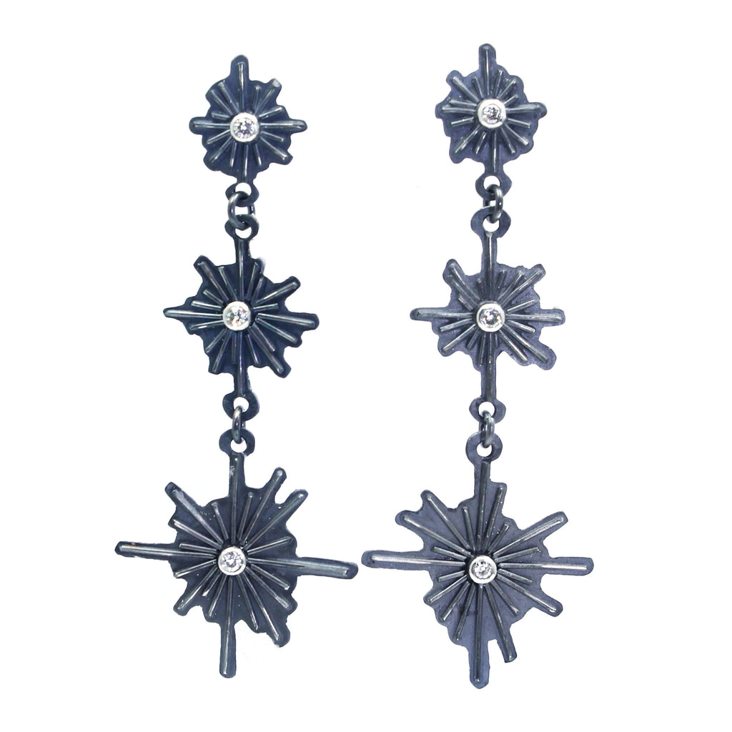 Starlight Earrings - Silver