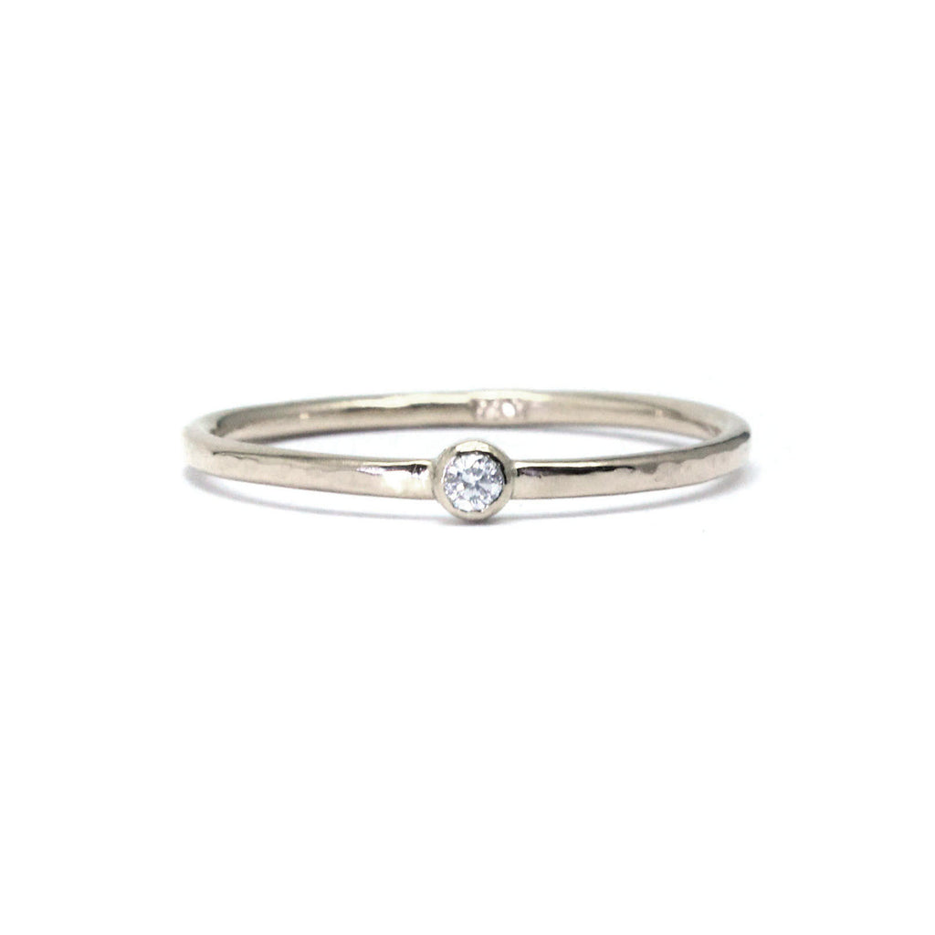 Crista Ring - White Gold