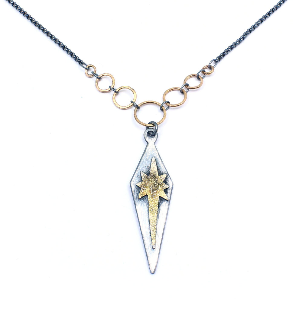 Supernova Necklace - Gold