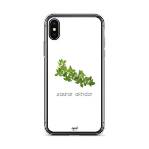 Zaatar Akhdar iPhone Case