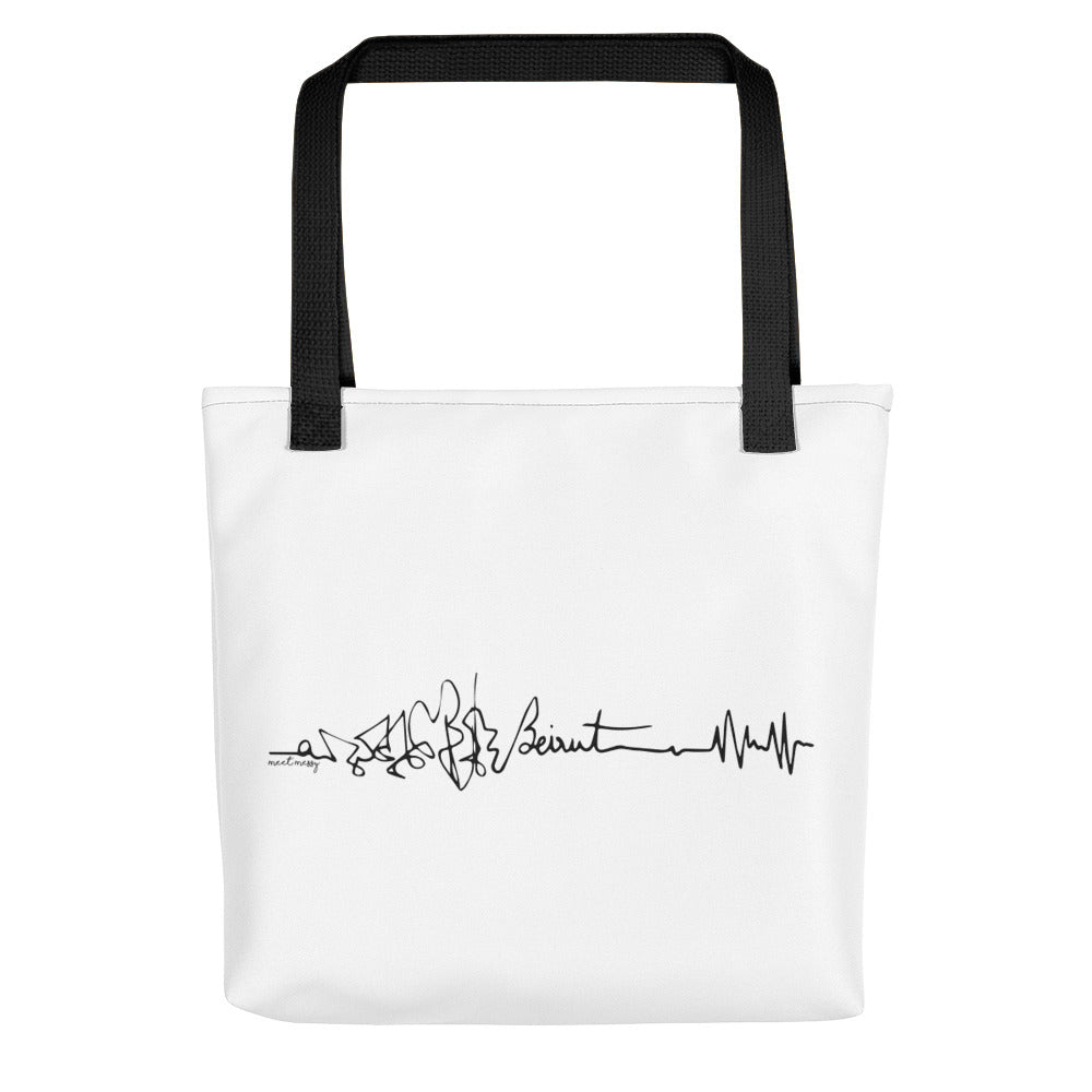 Tote bag - Beirut Heartbeat
