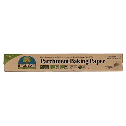 If You Care Parchment Baking Paper – 70 Sq Ft Roll - Unbleached, Chlorine Free