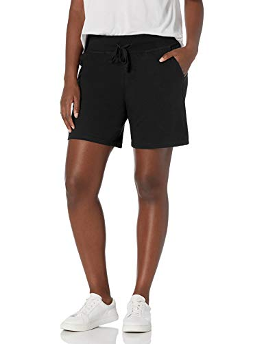 Hanes Women's Jersey Short, Black, Small