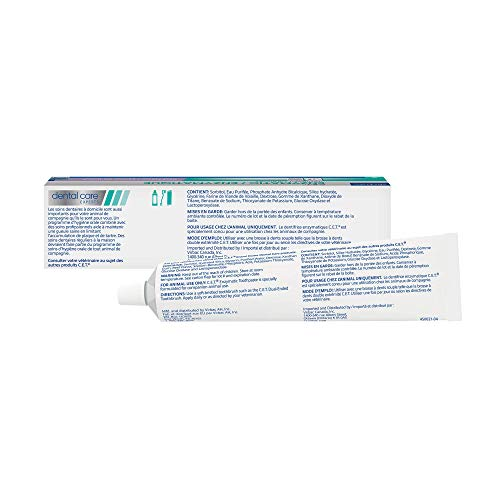 Virbac CET Enzymatic Toothpaste Eliminates Bad Breath by Removing Plaque and Tartar