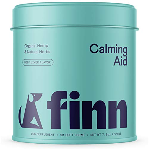 Finn Calming Aid Calming Chews for Dogs - Natural Calming Treats