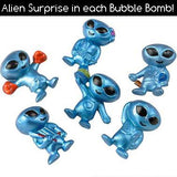 Galaxy Bubble Bath Bomb for Kids with Surprise Toy Alien Inside by Two Sisters Spa