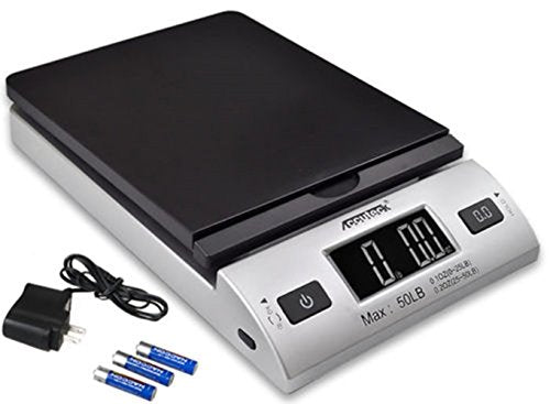 ACCUTECK All-in-1 Series W-8250-50bs A-Pt 50 Digital Shipping Postal Scale