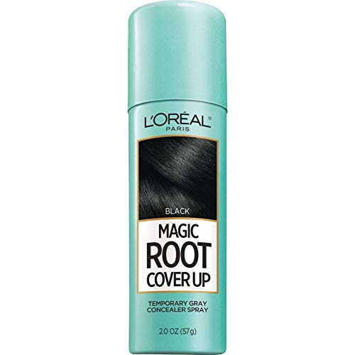 L'Oreal Paris Magic Root Cover Up Gray Concealer Spray Black 2 oz