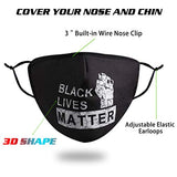Reusable Fashionable Face Mask Women Men, Design Cloth Adjustable Breathable
